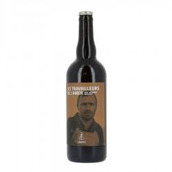Bière les travailleurs de l'amer Ambrée