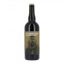 Bière les travailleurs de l'amer Stout
